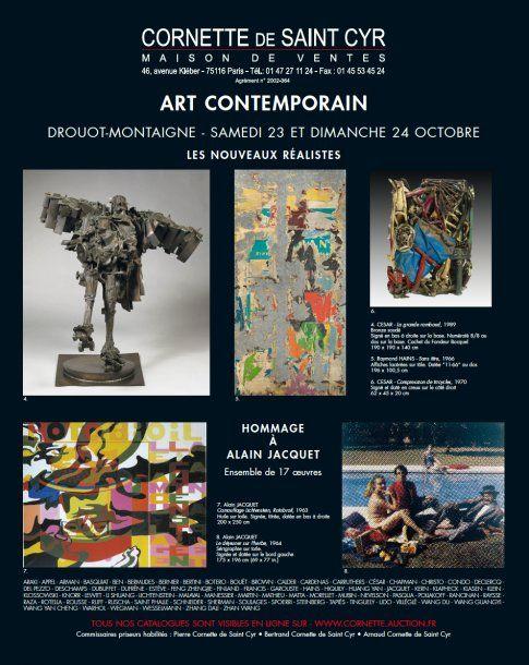 ART CONTEMPORAIN - Expositions du 21 au 24 octobre