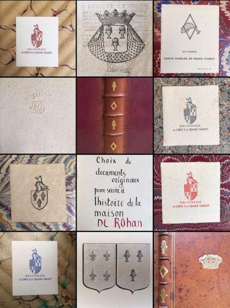 Bibliothèque Rohan-Chabot, Fonds Jean Stern et Maria Star, et à divers : manuscrits, livres du XVIe au XXe, photographies et dessins