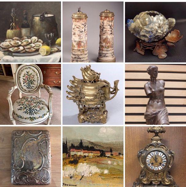 Classique [sur désignation] : Tableaux, Orfèvrerie, Mobilier, Objets d'Art