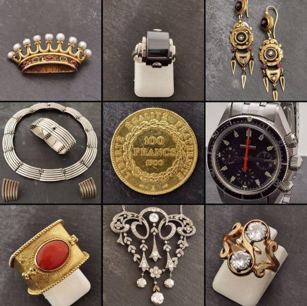Pièces d'or, d'argent & Bijoux