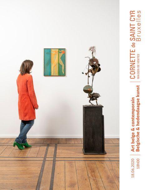 Art belge et contemporain - Nouvelle date - new date
