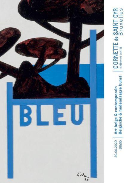 Summer auction - Art belge et contemporain