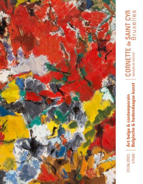 ART BELGE - ART CONTEMPORAIN
