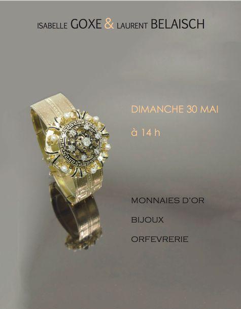 MONNAIES D'OR - BIJOUX - ORFEVRERIE
