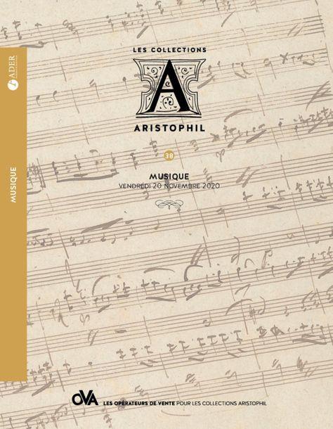 [VENTE MAINTENUE] - ARISTOPHIL - Musique