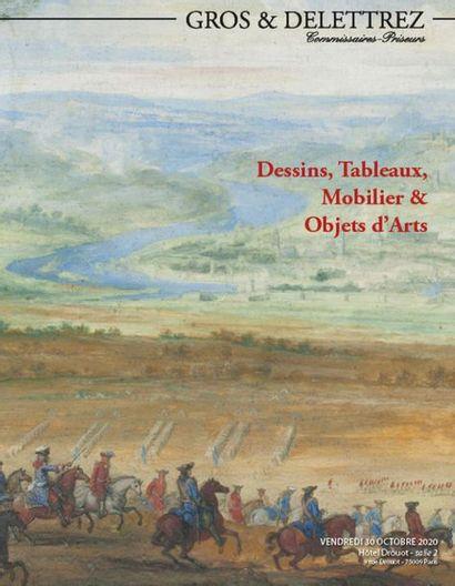 [VENTE MAINTENUE EN LIVE] Dessins, tableaux anciens, mobilier & objets d'art