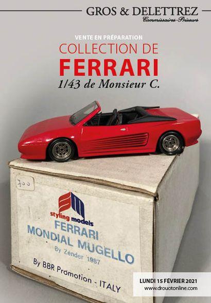 Collection de Ferrari<br/>1/43 de Monsieur C.
