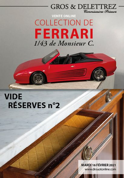 Collection of Ferrari<br/>1/43 by Mr. C.