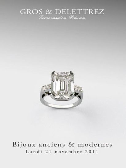 Bijoux anciens & modernes XIXe, Belle Epoque, Art Déco, 1950 - Vente Drouotlive