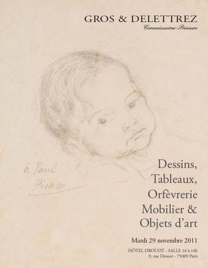Meubles et objets d'art, dessins, tableaux...