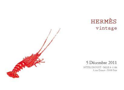 HERMES VINTAGE  - VENTE LIVE
