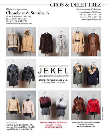 JEKEL -</br> cuirs, fourrures, peaux lainées