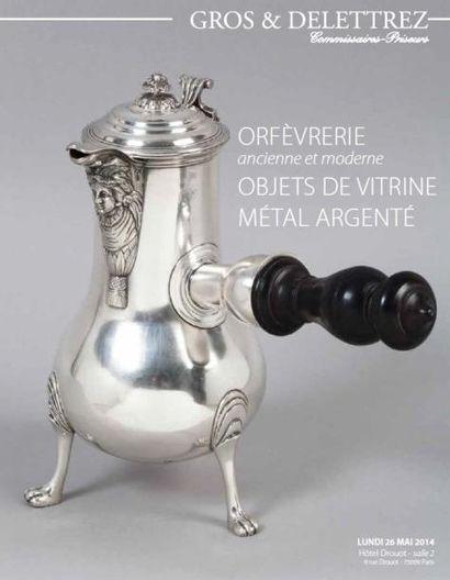 Orfèvrerie, Objets de vitrine, métal argenté