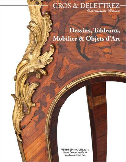 Dessins, tableaux, orfevrerie ancienne & moderne, <br/> mobilier & objets d'art