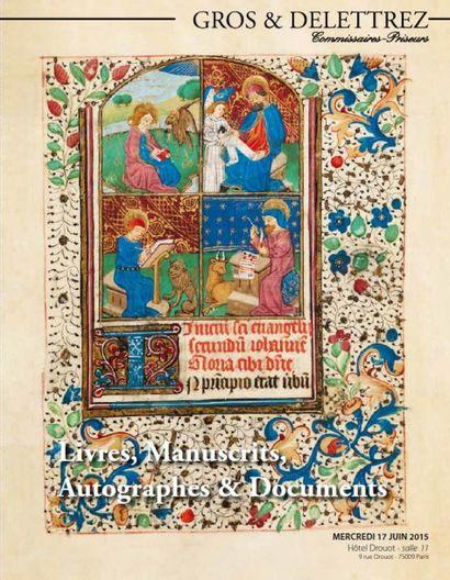 Livres, manuscrits, autographes & documents