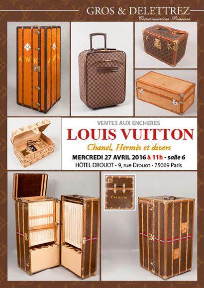 Louis Vuitton, Chanel, Hermès et divers - vente à 11h00 et 14h00