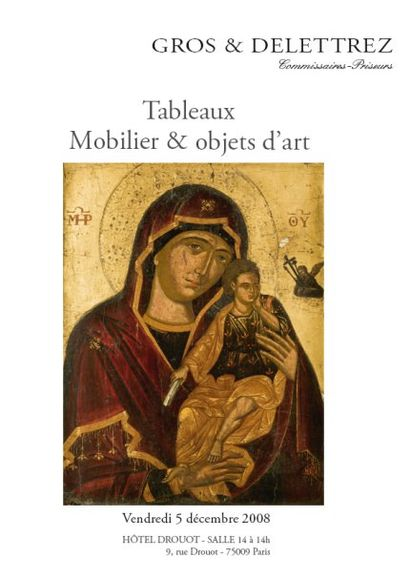 Tableaux Mobilier & objets d'art