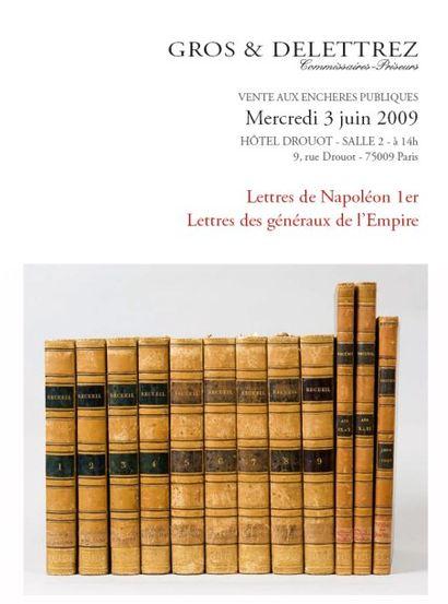 Lettres de Napoléon 1er Lettres des généraux de l'Empire