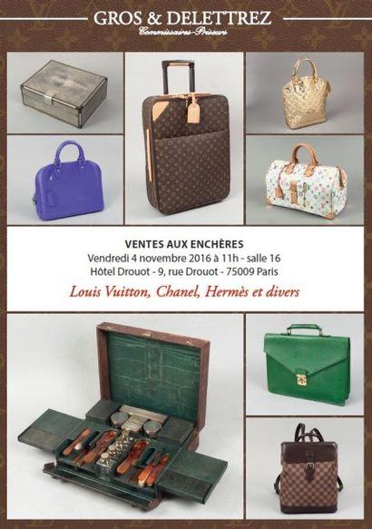 vente à 11h et 14h : modeLouis Vuitton, Chanel, Hermès & divers.