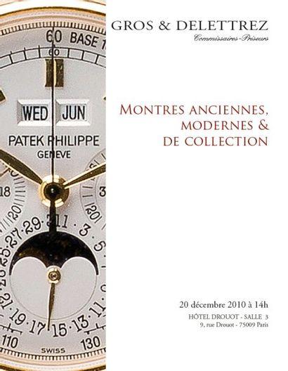 MONTRES ANCIENNES, MODERNES & DE COLLECTION - VENTE LIVE
