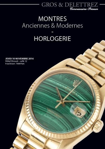 montres anciennes et modernes - horlogerie