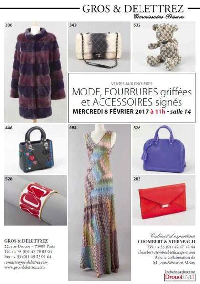 Vente à 11h et 14h : Mode - Fourrures et accessoires
