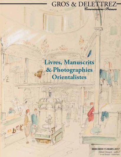 Livres, manuscrits et photographies orientalistes