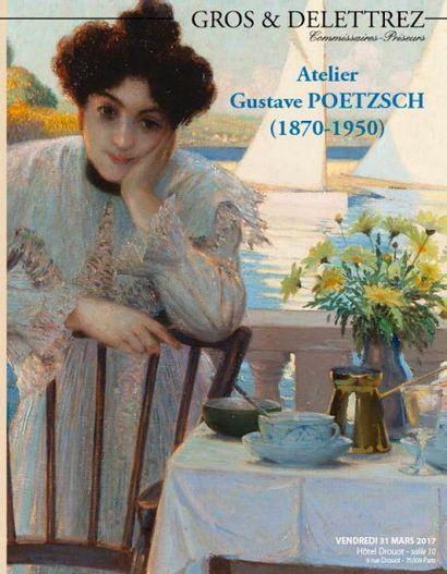 Atelier Gustave POETZSCH (1870-1950) – Estampes, Dessins, tableaux, plus de 500 œuvres