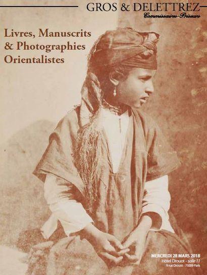 Livres, Manuscrits & Photographies Orientalistes
