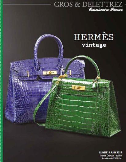 Vente à 11h et 14h : HERMES Vintage