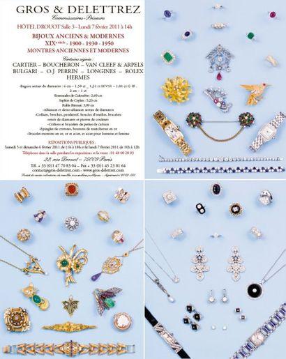 Bijoux et montres -  XIXe siècle - 1900 - 1930 - 1950