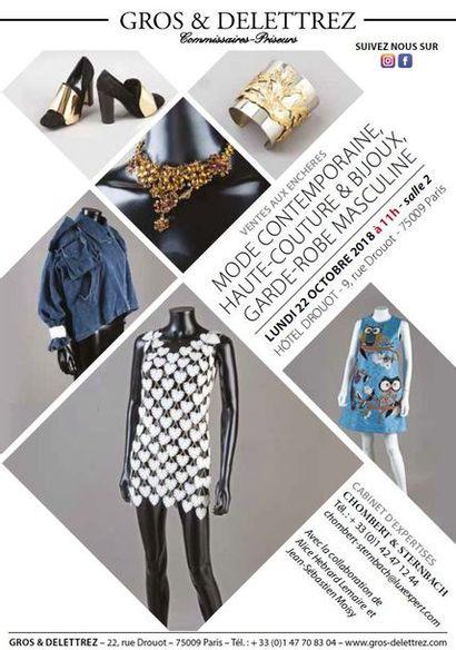 Haute couture - Mode contemporaine - Bijoux - Garde-robe masculine