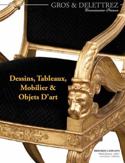 Dessins - Tableaux - Mobilier & Objets D'art