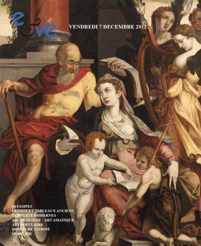 Tableaux anciens et modernes - Objets d'art et d'ameublement - Meubles
