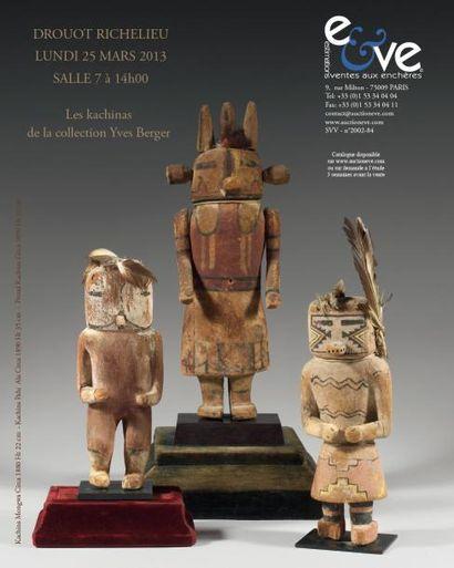 Les Kachinas de la collection Yves Berger