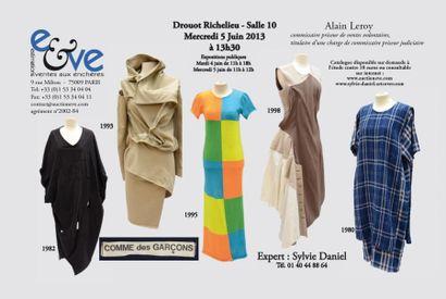 Mode - Comme des garçons -<br>Textiles anciens Tapis d'Orient principalement d'Iran et de Turquie Tapis français d'aubusson et de la savonnerie