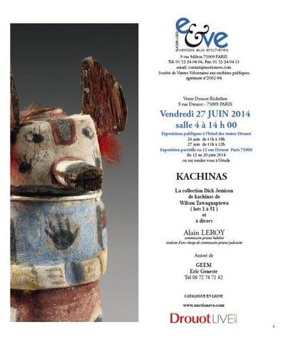 Collection dekachinas - Art AMERINDIENS PRECOLOMBIEN