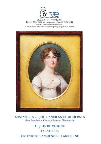 MINIATURES - BIJOUX ANCIENS ET MODERNES,...