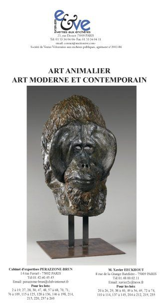 ART ANIMALIER - ART MODERNE ET CONTEMPORAIN
