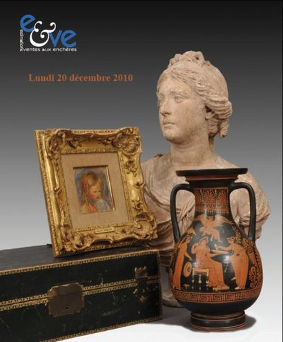 Archéologie - Tableaux anciens et modernes, objets d'art et meubles...
