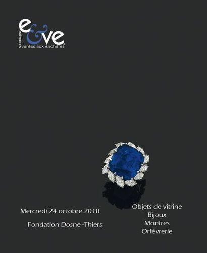 Objets de vitrine - Bijoux - Montres -Orfevrerie