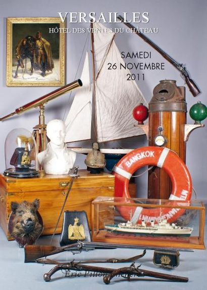 ARMES et SOUVENIRS HISTORIQUES  CANNES  FRANC-MAÇONNERIE   CHASSE  OBJET de MARINE