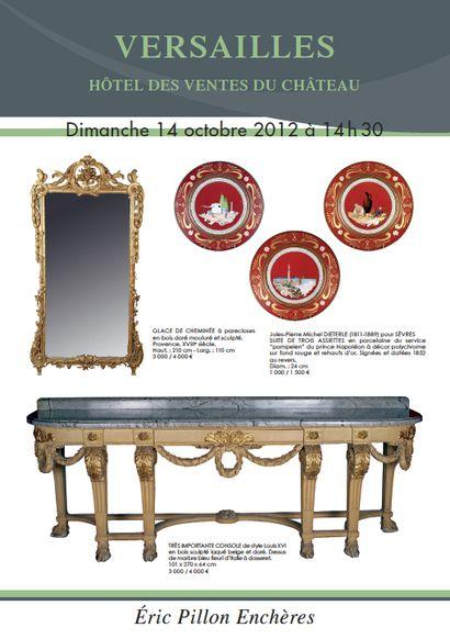 Argenterie - Tableaux anciens - objets d'art mobilier XVIIIe et XIXe