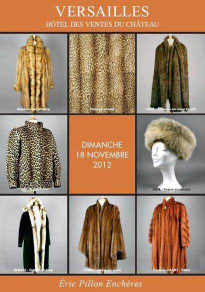 Vintages - Bijoux- fourrures – maroquinerie  accessoires de mode - carrés et cravates Hermès vêtements griffes- bagages