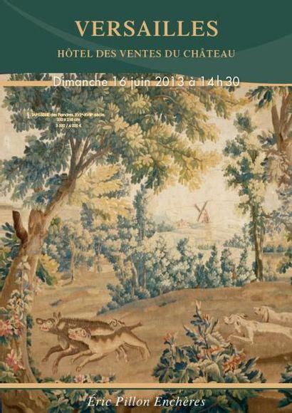 ARGENTERIE – BIJOUX – TABLEAUX – OBJETS D'ART – MOBILIER XVIIIe et XIXe SIECLES, TAPISSERIES
