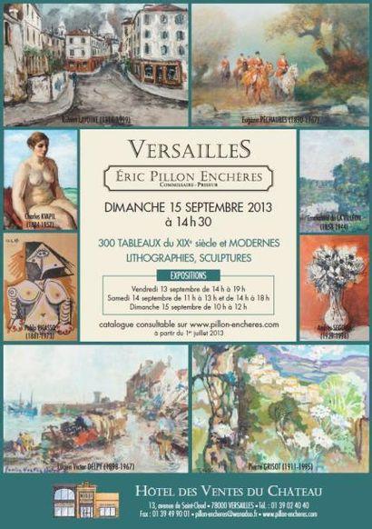 300 Tableaux du XIXe siècle, Modernes et Contemporains Lithographies - Sculptures