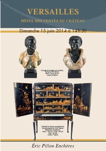 Bijoux, argenterie - Tableaux des XVIIIe et XIXe siècles - Objets d'art - Mobilier des XVIIIe et XIXe siècles