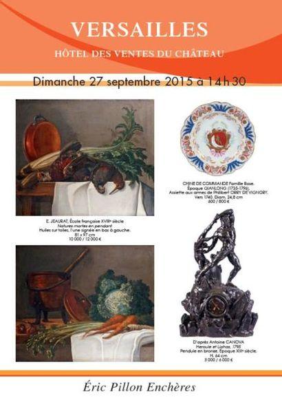 Arts d'Asie - tableaux anciens - dessins - gravures - argenterie - arts de la table - objets d'art - mobilier XVIIIe