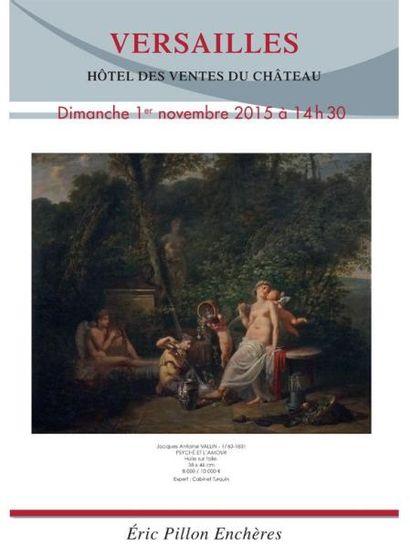 Tableaux anciens - dessins - gravures - argenterie - arts de la table - objets d'art - mobilier XVIIIe