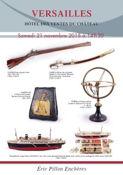 Armes - souvenirs historiques - marine - cynégétique